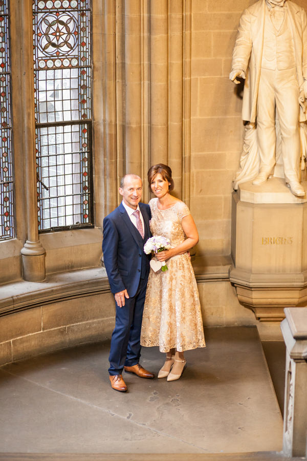 Reportage wedding photographer manchester